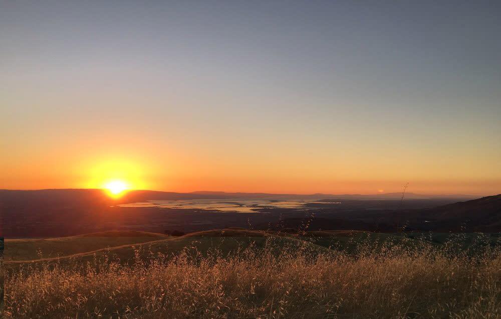 Sierra Road: San Jose'ye tepeden mükemmel bir bakış